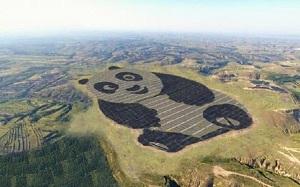 Trung Quốc xây dựng nhà máy điện năng lượng mặt trời 'siêu dễ thương'