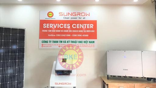 Dịch vụ bảo hành Inverter hòa lưới Sungrow