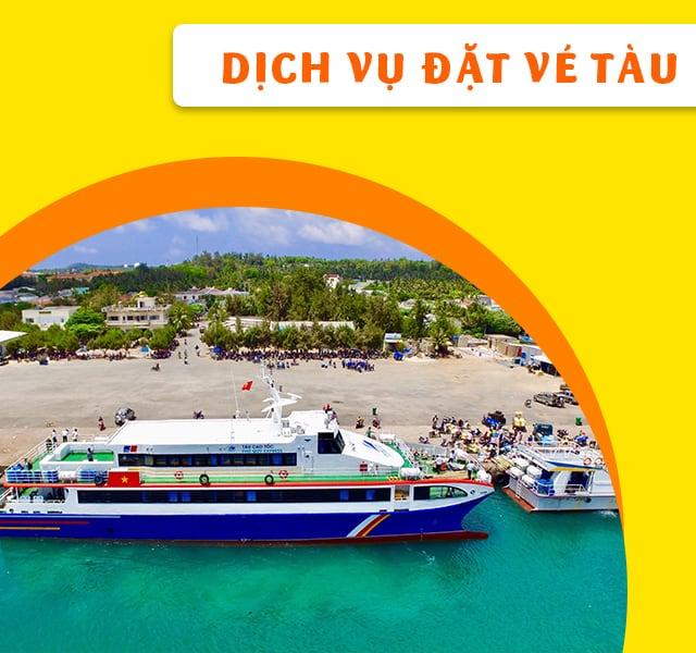 Đặt Vé Tàu Đi Đảo Phú Quý